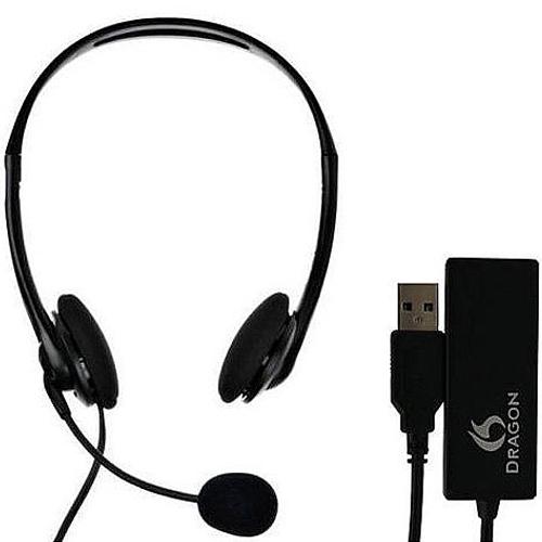 Dragon USB Speech Recognition Headset