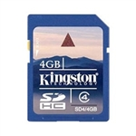 Kingston 4GB SD Card (SDHC)