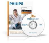 Philips LFH4400/01 SpeechExec Pro Dictate including Speech Recognition Interface License.