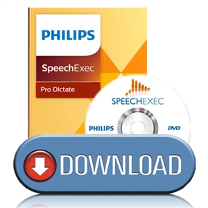 Philips LFH4401/01 SpeechExec Pro Dictate Instant Download Software