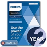 Philips LFH4612/00 SpeechExec Transcribe Standard V11 Software 2 Year License - Instant Download