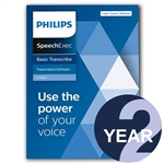 Philips LFH4622 SpeechExec Transcribe Standard V11 Software 2 Year License - Boxed Product