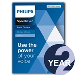 Philips LFH4722/00 SpeechExec Dictate Standard V11 Software 2 Year License - Boxed Product