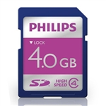 Philips LFH9004 4GB Secure Digital Card