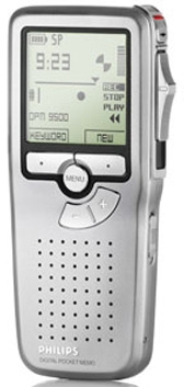 Philips LFH9500 Digital Voice Recorder