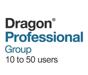 Dragon Professional Group 15 Volume License 10 - 50 Users