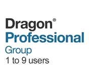 Nuance Dragon Professional Group 15 Volume License
