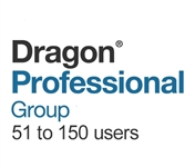 Dragon Professional Group 15 Volume License 51 - 150 Users