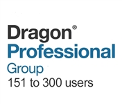 Dragon Professional Group 15 Volume License 151 - 300  Users