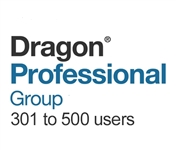 Dragon Professional Group 15 Volume License 301 - 500 Users