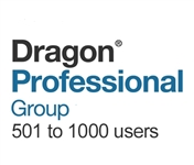 Dragon Professional Group 15 Volume License 501 - 1000 Users