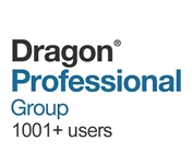 Dragon Professional Group 15 Volume License 1001 and Above Users