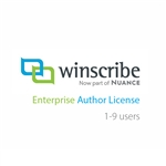 Nuance Winscribe Enterprise Author License (1-9 Users)