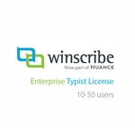 Nuance Winscribe Enterprise Typist License (10-50 Users)