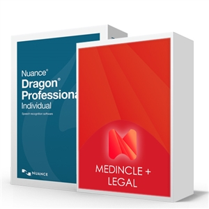 Dragon Professional Individual V15 Legal Speech Recognition package