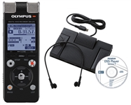 Olympus DM-670 with AS-2400 Transcriber