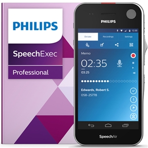 Philips PSE1200 SpeechAir Dictation and Speech Recognition Set