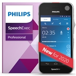 Philips PSE2200 SpeechAir Smart Voice Recorder with Speech Recognition