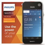 Philips PSP2200 SpeechAir Smart Voice Recorder - secure encrypted WiFi enabled Android device