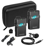Speak-IT Wireless Microphone Recording Kit