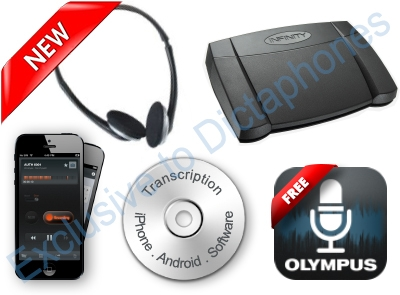 Speak-IT Premium Mobile Phone Transcription Kit