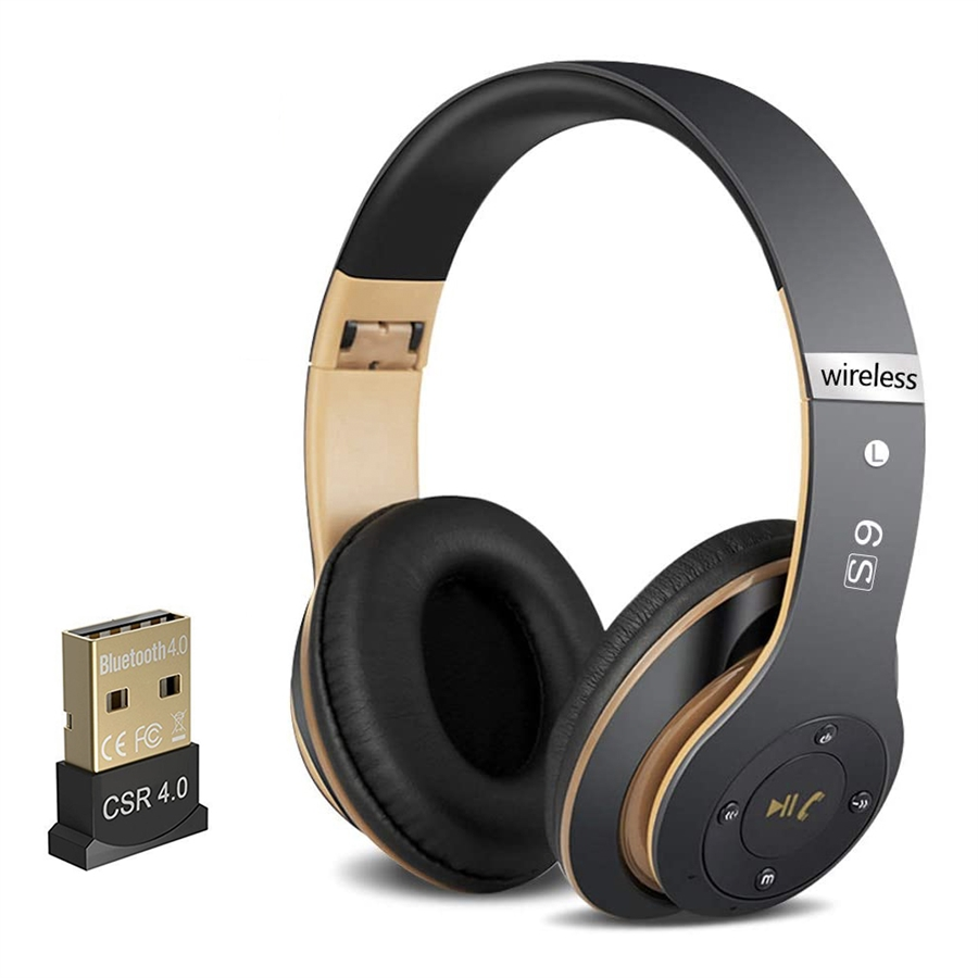 Transcription Headset With Bluetooth Usb Dongle