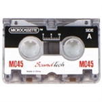 SoundTech MC-45 Microcassettes