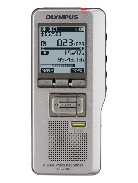 olympus ds 2500 digital voice recorder rh dictaphones co uk