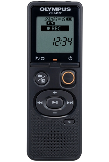 Olympus VN-541PC Black 4GB Digital Voice Recorder