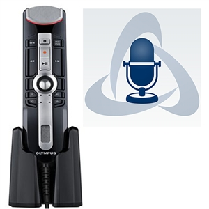Olympus RecMic II RM-4015P USB Microphone with ODMS R7 Software