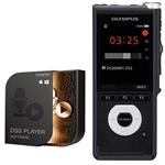 Olympus DS-2600 Digital Voice Recorder inc. DSS Player Standard Software with Slide Switch