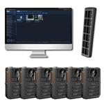 Hytera VM550 Complete BodyCam Kit (6 users) Incl. SmartMDM Software