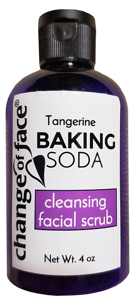 Great exfoliating facial wash with baking soda.