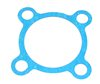 TB-17-40005-05-AM GASKET SUCTION 4 BOLT