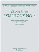 IVES, Charles Edward (1874-1954) - Symphony No.  4 (New Critical Edition) (Brodhead). ASSOCIATED MUSIC PUBLISHERS - large score