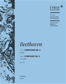 BEETHOVEN, Ludwig van (1770-1827) - Symphony No.  9 in D minor, Op.125 (Choral) (Urtext) (Kraus) (G). G. HENLE - large score