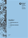 MAHLER, Gustav (1860-1911) - Blumine Movement (from Symphony No.  1) (critical edition) (Riedel). BREITKOPF & HAERTEL