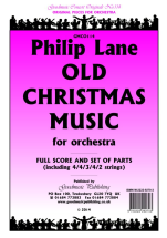 LANE, Philip - Old Christmas Music . GOODMUSIC