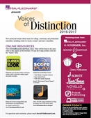 Hal Leonard Voices of Distinction Featured Choral Music 2016-2017.