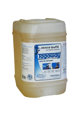 Graffiti Removal Product Tagaway in 5 GAL.