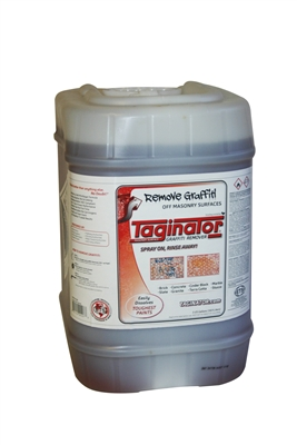Graffiti Removal Product Taginator in 5 GAL.