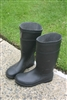 1 Pair Black Safety Boots - Size 12