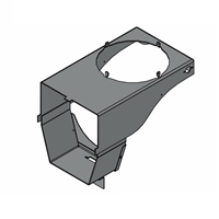 Chimney Tee Support - CL 4030, CL 5036, CL 6048