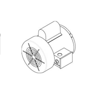 Fan Motor for Suspended Space Heater - 220k Btu