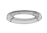"Radiant CENTRAL PEX 1/2"" Pipe, 500 feet"