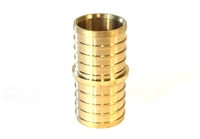 PEX Coupling, Brass, 1""