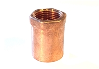 "Female Adapter, Copper, 1"" sweat x 3/4"" FIP fittings"