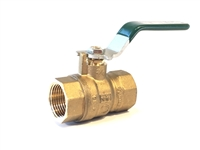 "Ball Valve, 3/4"" Full Port"