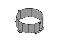 Chimney Base Brace Kit, 6""