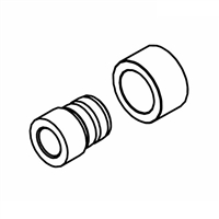 Door Latch Bushing/Collar Kit, Classic Edge